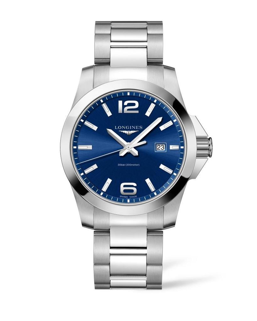 Pánské hodinky Longines L3.760.4.96.6 Conquest a3f4c3b1cad